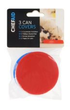 Chef Aid Pet Can Covers (Pack of 3) - 7.5cm